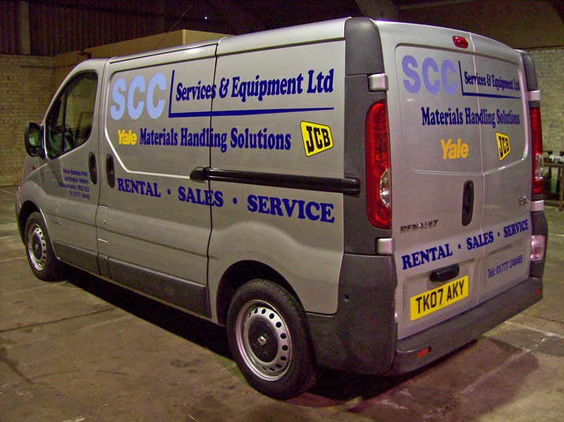 Click here to view more images of SCC vehicle graphics