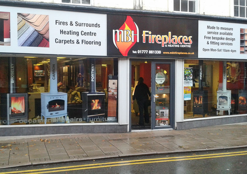 Window graphics for any type of business premises shops offices restaurants bars